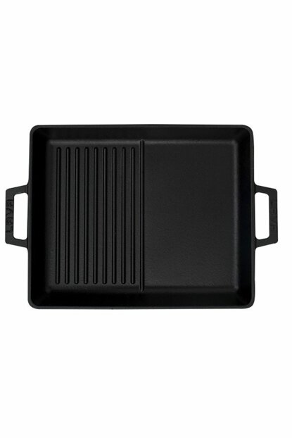 Lava Grill Pan Hybrid26X32 With Metal Handle T4 131