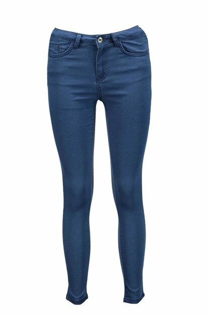 Women's Blue Trousers - UCB021735A22