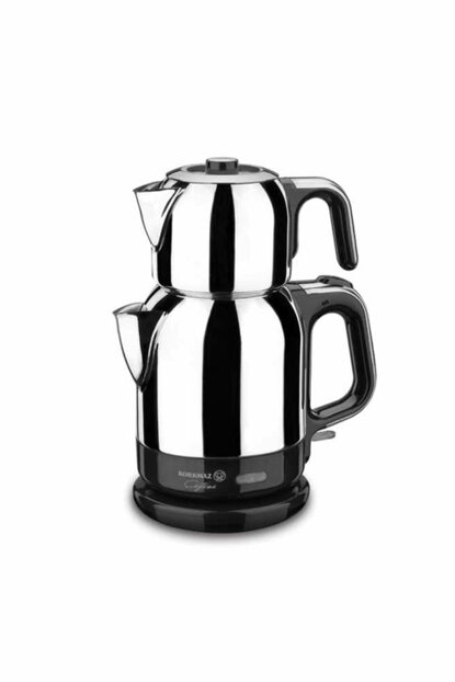 A331 Korkmaz Caytema Inox / Chrome Electric Tea Pot