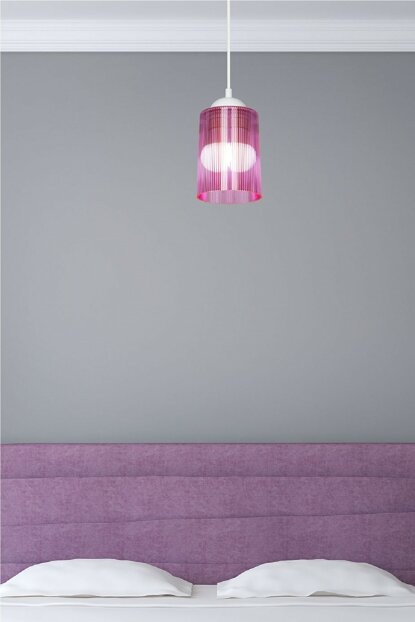Pink Optical Promo Pendant Lamp - Double Bulb Look MDL.3667