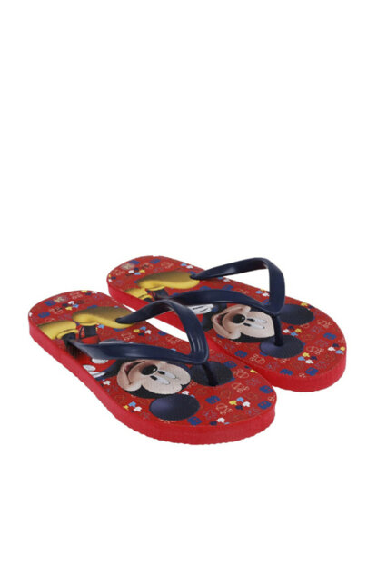 Boys Flip Flops Slippers Red SBCECTRLK339_00-0051