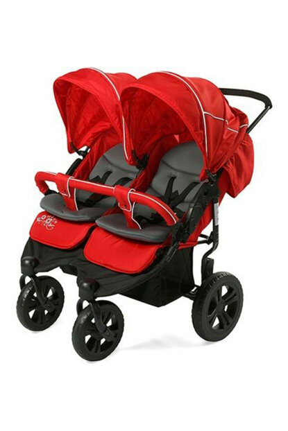 Sunny Baby Sweety Twin Baby Stroller - Red / IB21162