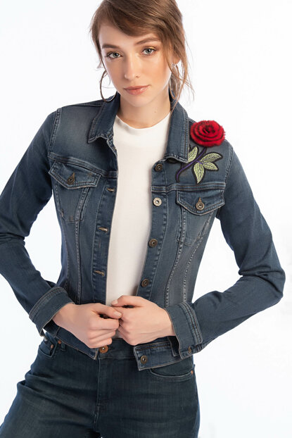 Women's Olivia 3 Denim Jacket 191 LCF 131003