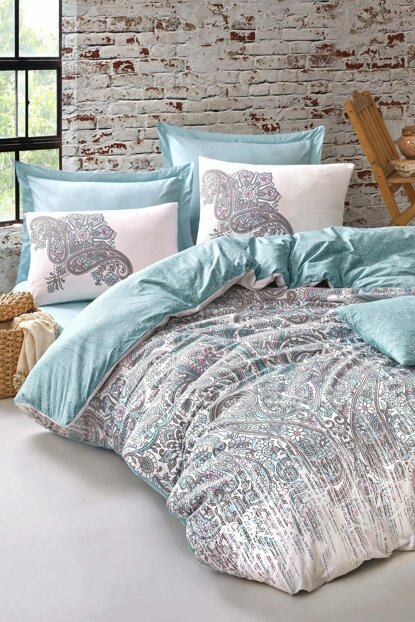 Mother's Day Special Double Linens Set Marta Turkuaz 8680108046180