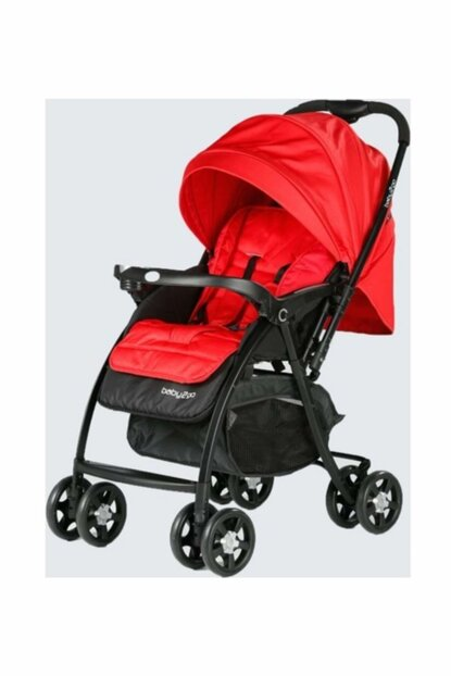 Baby2Go 6021 Soft Bidirectional Baby Carriage Red / 602112