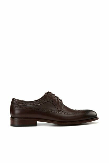 Genuine Leather Brown Men Shoes 02AYH138460A480