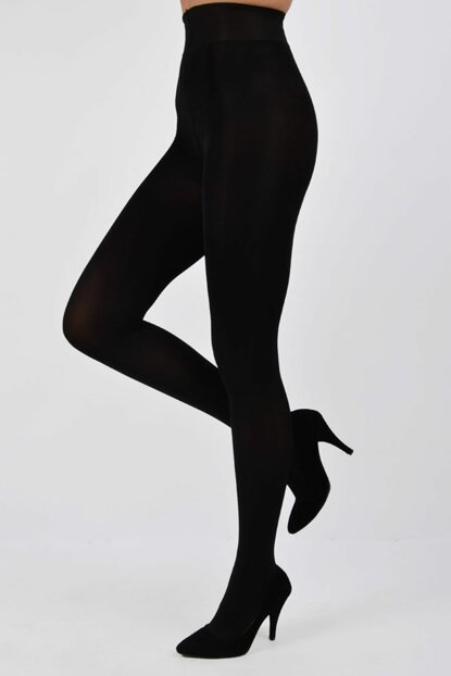 Pemilo da Penti Women Bamboo Pantyhose Stockings Black PE-431