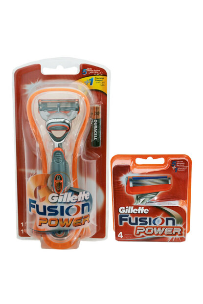 Fusion Power 1up Shaver + Fusion Power 4 Head 9849849498498