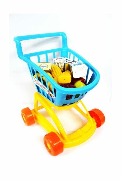 Grandfather Candy Ken Market Trolley Shopping Trolley Blue 8693830013696