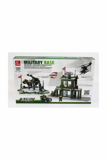 Military Station 425 Piece Mini Lego Set 2 In 1 8680084546698