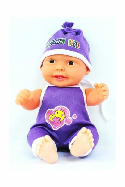 Welcome Baby in Purple Dress 8681695100453