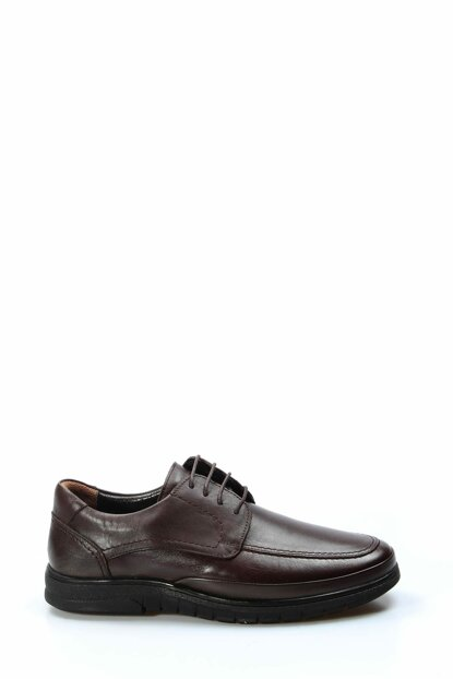 Genuine Leather Brown Men Orthopedic Classic Shoes 1849635