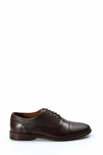 Genuine Leather Brown Men Classic Shoes 1851491