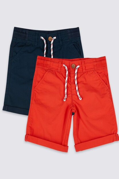Red Boy 2s Pure Cotton Shorts T88001803I