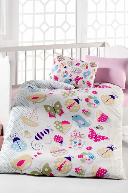 Baby Duvet Cover Set 100% Cotton | Butterfly 152-11-20000150