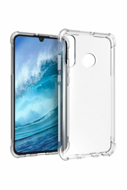 Rich Shop Huawei P30 Lite Case Ultra Thin Transparent Airbag Anti Shock Silicone - Transparent P30LIFE