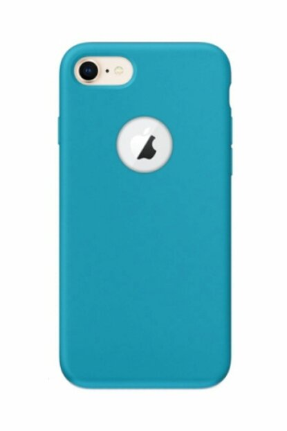 Rich Shop For iPhone 7 Soft Silicone Case i7-BLUE