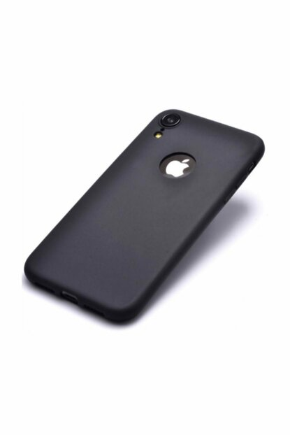 Rich Shop For Iphone XR Soft Silicone Case XR-BLACK