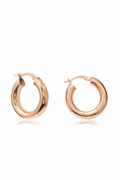 Flat Sharnel Thick Ring Earrings COS-CZE2039
