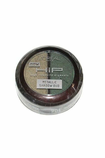 Eyeshadow - L'oreal Hip Studio Secrets Metallic Shaow 306 Gunmetal Double Headlight 071249147658