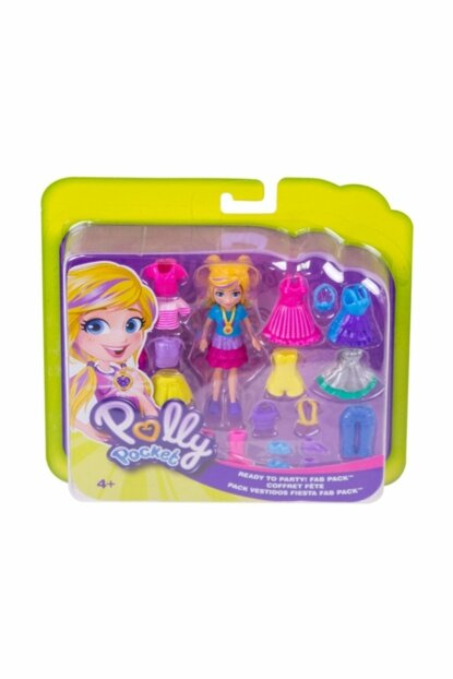 Polly Pocket And Party Clothes Set U302768