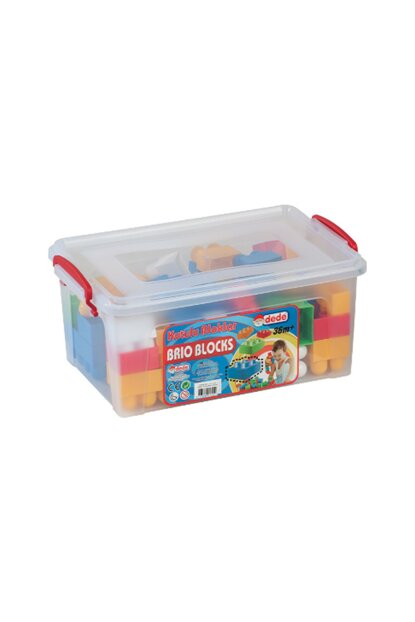 Grandfather 01325 Boxed Blocks No: 1 58 Pieces /