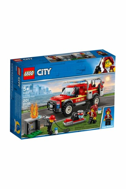 City Fire Chief Intervention Truck 60231 U309224