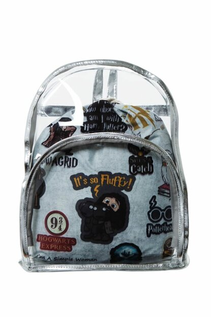 Transparent Backpack Harry Potter with Inner Bag BHP1901