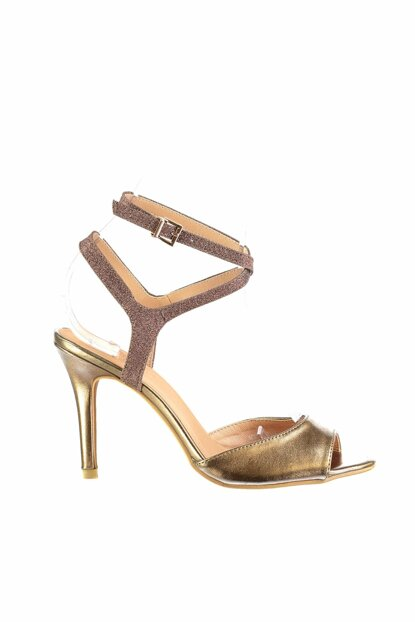 Bronze Women's Evening Shoes 18SFE233114