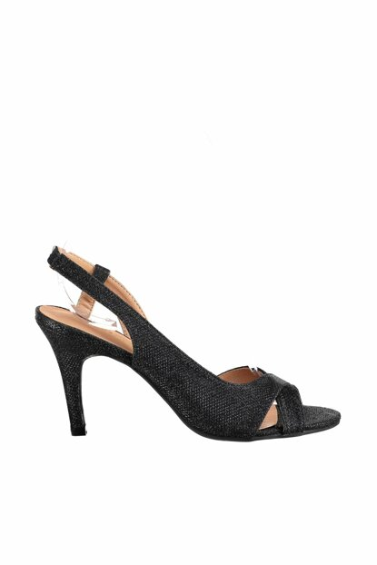 Black Women's Evening Shoes 18SFE2320SM