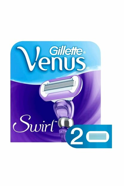 Venus Swirl Replacement Women Razor Blades 2 pcs 7702018427635