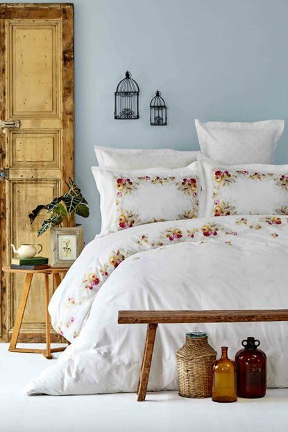 Mag Adonia Red Rnf Double Duvet Cover Set 201.14.01.0036