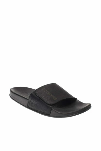 226324 Black Men's Slippers with Velcro 257 226324M