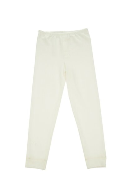 Boys' Ecru Thermal Sweatpants C0111Y0020