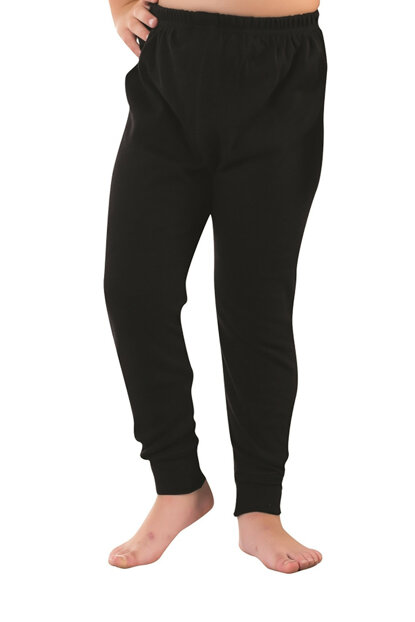 Boys' Black Thermal Bottom Mgb1955 MGB1955