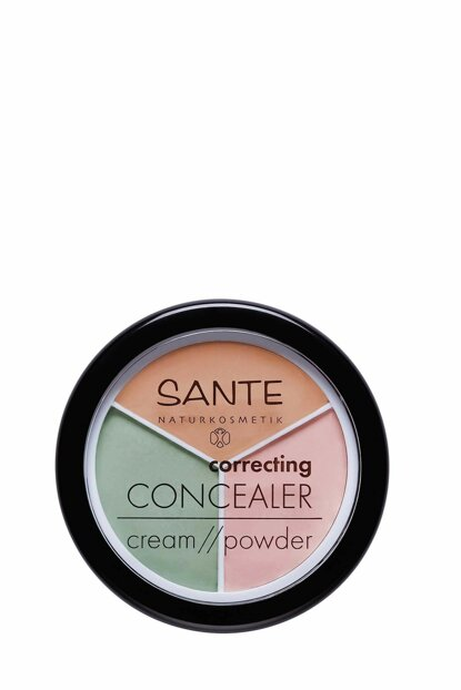 Organic Bug Correcting Concealer Cream / Powder - 3 Colors - 6 g 43266