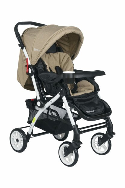 Baby Force Secret Bidirectional Baby Stroller Brown 0-4 Years Old / 07E050027SS1