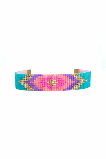 Beadwork Patterned Bracelet MA2526