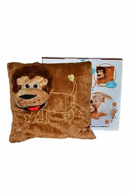 Fairy Tale Telling Lion Pillow / 19897