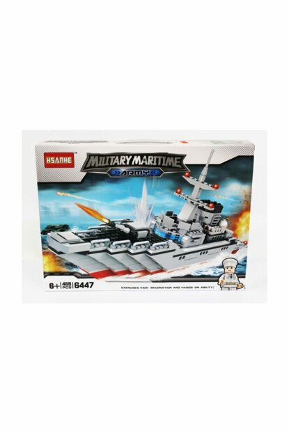 Battleship 468 Parts Mini Legos 8680084560731