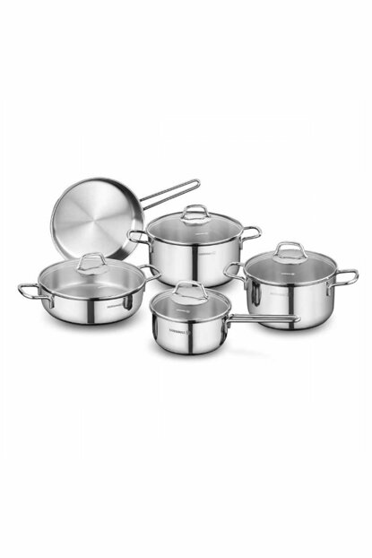 A1609 Korkmaz Perla 9 Pieces Cookware Set 2015ST000868