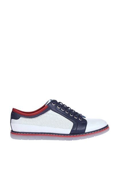 Genuine Leather White Men Shoes 120118669420