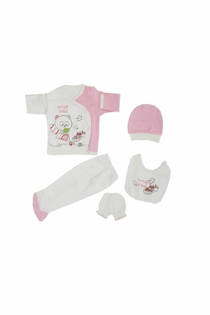 Pink Baby Girl 5 Pieces Hospital Outlet FYZM1296