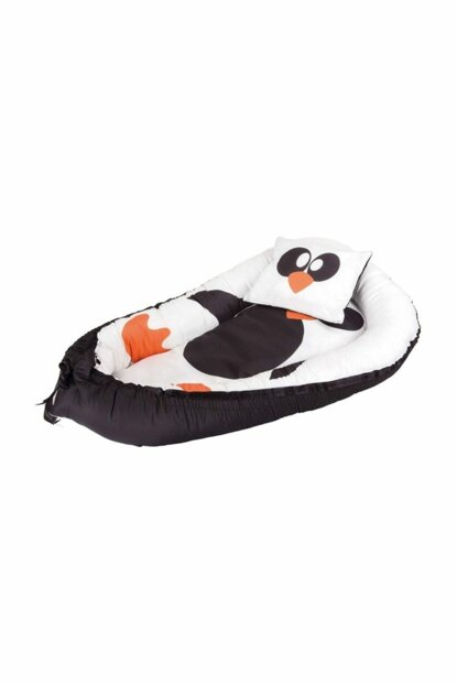 BabyNest Baby Penguin Sleeping Bed And Pillow 100% Cotton OPTION a259