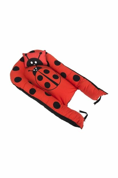 BabyNest Ladybug Baby Sleeping Bed And Pillow 100% Cotton CHOOSE a256