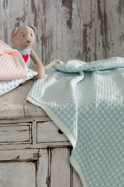 Baby Dream Baby Blanket Blue 55BDREAMM