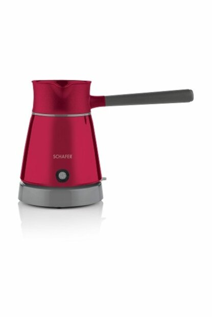Schafer Stılle Electric Coffee Pot - Red 13268