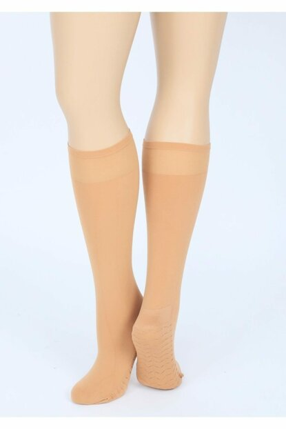 4 Pcs Pack Massage Stockings Over Knee Thick Honeycomb Textured TRNT40190