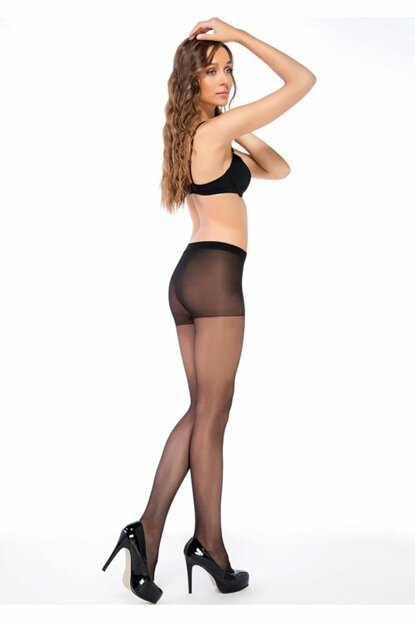 3 Piece Pack Pantyhose Super 15 Den Bright Color Fit 15 TRNT40080