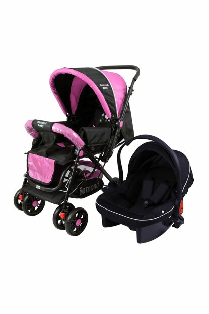 Baby P 101 Travel System Pushchair Two Way Baby Carriage - Raincoat Foot Cover with Gift 820310